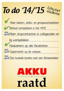 Verantwoording - Effectief studeren1